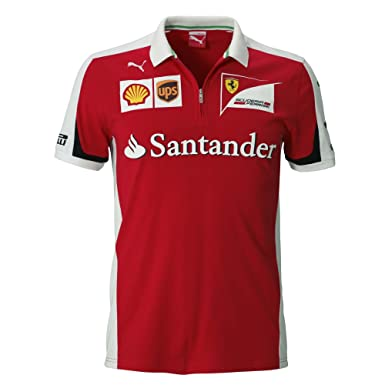 Santander Polo Homme Puma Team Rouge2xl Ferrari Replica Scuderia dhxtCsrQ