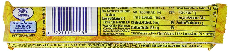 Butter Finger Bar 59.5 g (Pack of 6): Amazon.es: Alimentación y ...