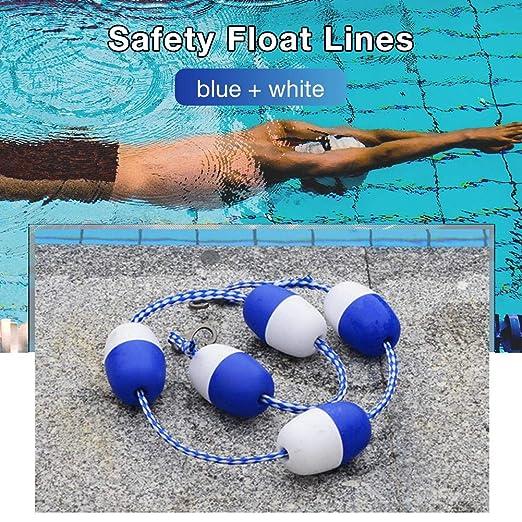 Never-hu - Líneas de Flotador de Seguridad para Piscina, Cuerda de ...