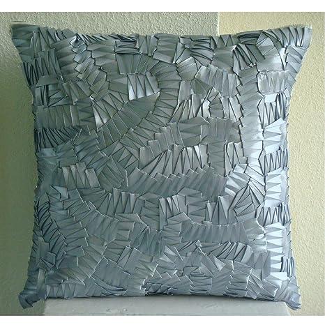 Silver Mist - Decorativa Funda de Cojin 30 x 30 cm, Square ...