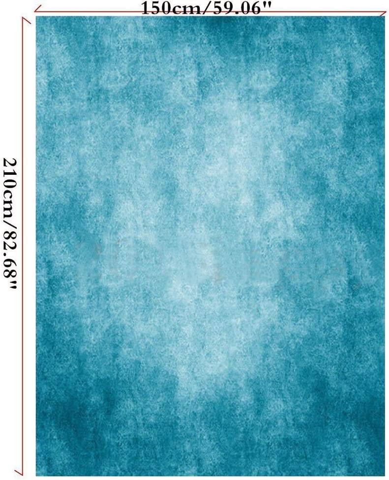 OMG/_Shop 5x7ft Retro Blue Wall Photography Backdrops Snowing Wall Photo Background for Photography Studio