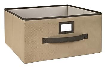 Amazon.com: ClosetMaid 25066 Deep Fabric Drawer, Mocha: CLOSETMAID: Home U0026  Kitchen