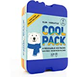 [NEW] Cool Pack, Slim Long-Lasting Ice Packs - Great for Coolers or Lunch Box (set of 4)