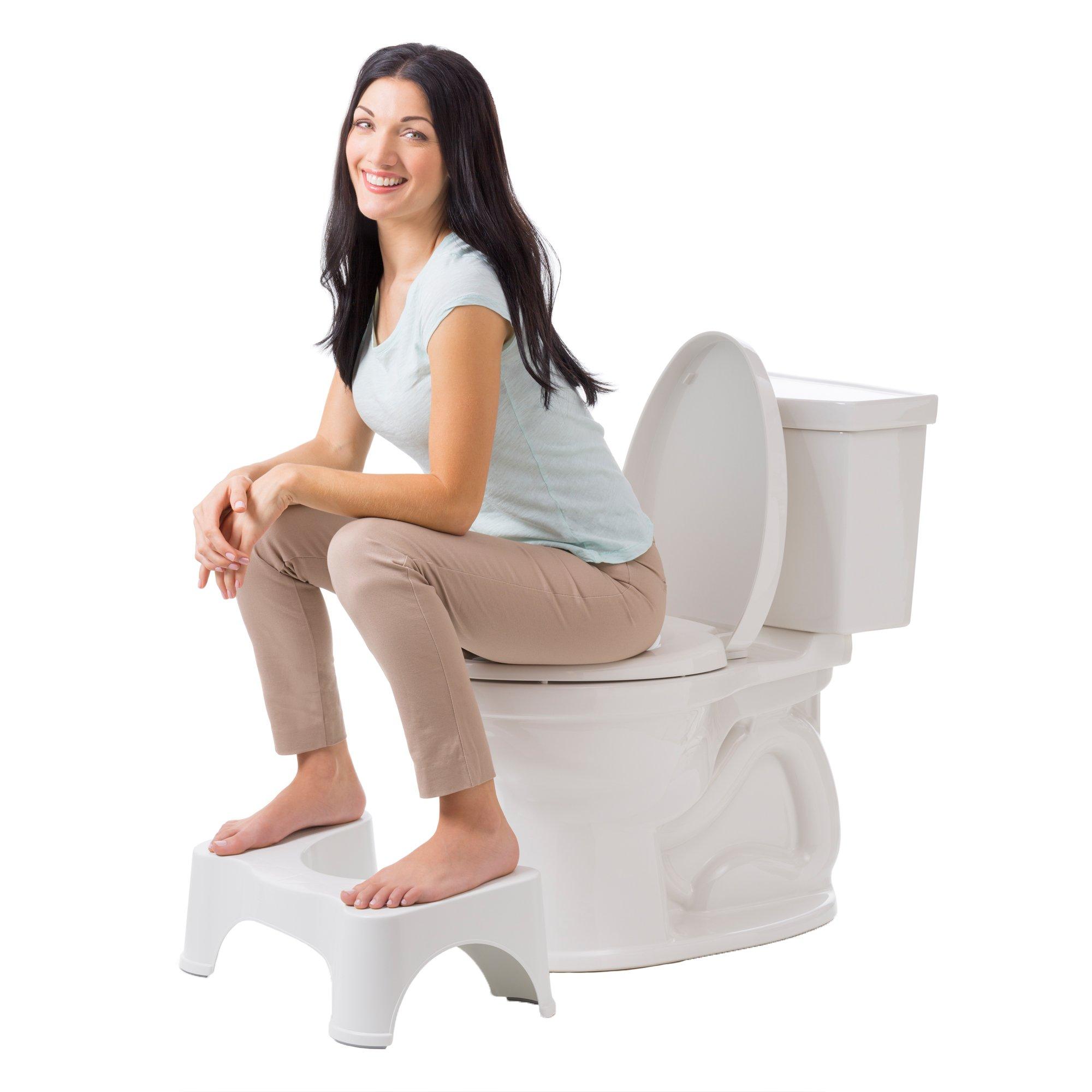 Squatty Potty The Original Bathroom Toilet Stool White 9