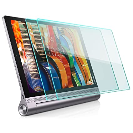 zanasta 2x Protector de pantalla [Vidrio templado] Lenovo Yoga Tab 3 Plus, Cristal HD Screen Protector Transparente