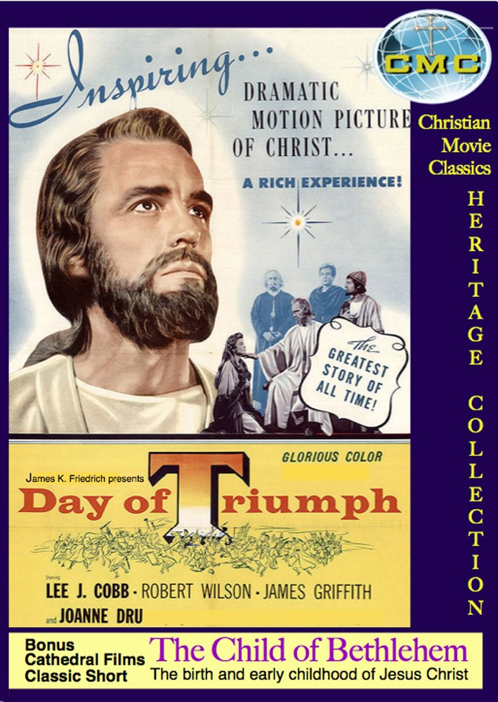 Amazon.com: DAY OF TRIUMPH - (1954, color) - the first Life of Jesus ...