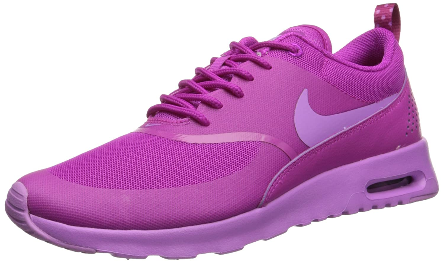 NIKE Women's Air Max Thea Low-Top Sneakers, Black B00MFRUBLY 8 B(M) US|Pink/Fucshia
