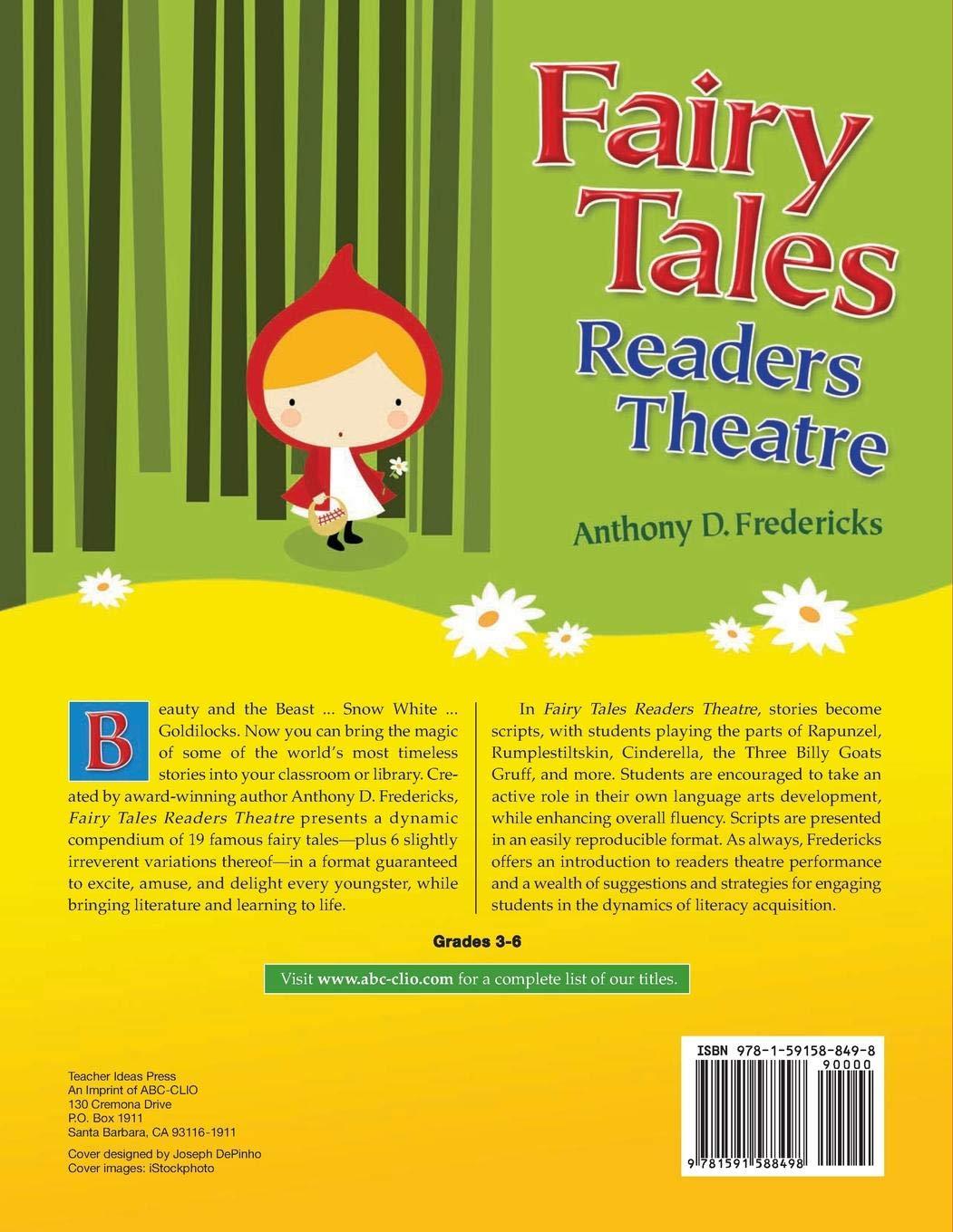Fairy Tales Readers Theatre: Amazon co uk: Anthony Fredericks