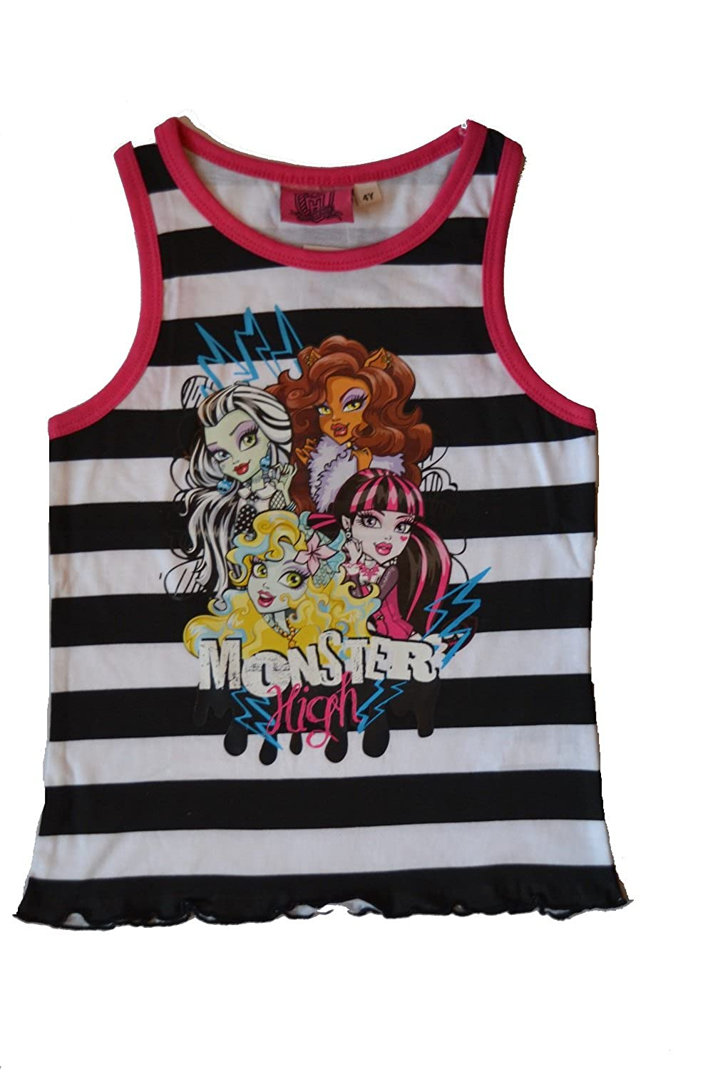*** Débardeur T-Shirt fille été Monster High *** Du 4 au 12 ans