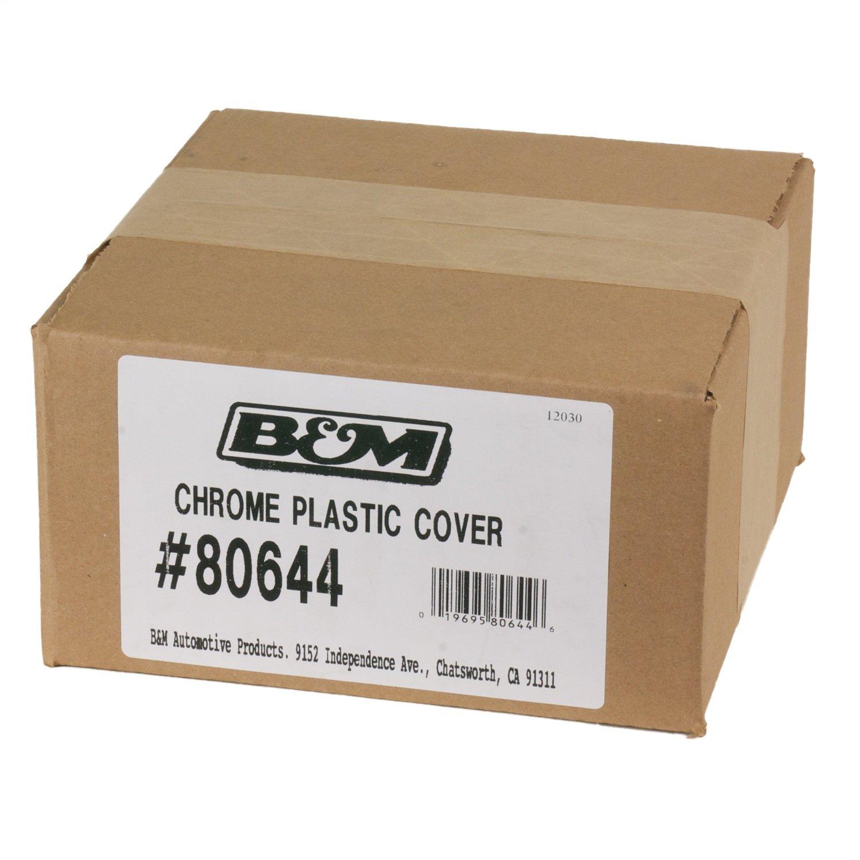 B/&M 80644 Chrome Plastic Cover for 80692 Console MegaShifter