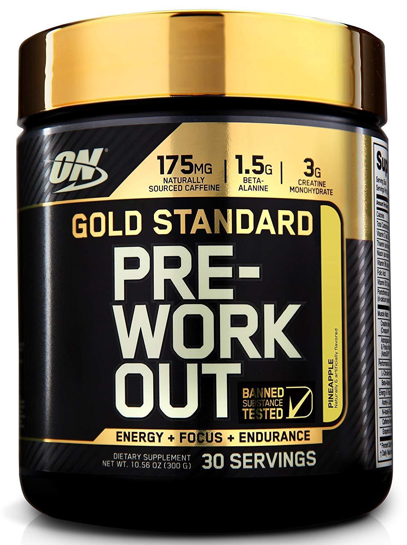Optimum Nutrition Gold Standard Pre-Workout, Pineapple, 30 Servings 2730525