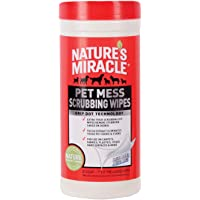 Deals on 30-Count Natures Miracle Pet Mess Scrubbing Wipes