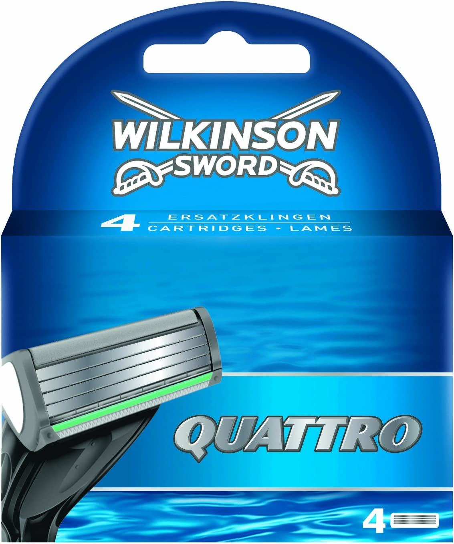 Wilkinson Sword Quattro, 4 Recambios