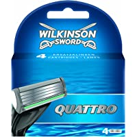 Wilkinson Quattro mesjes 4 Stuk
