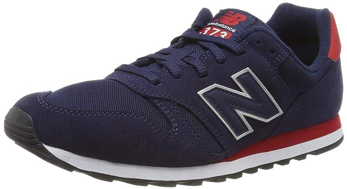 New Balance 373 Core Sneakers Herren Blau/Rot