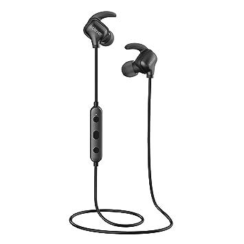 Auriculares inalámbricos, iClever Sport Headset ajuste ultra cómodo, cancelación de ruido, auriculares Bluetooth impermeables Auriculares inalámbricos para ...
