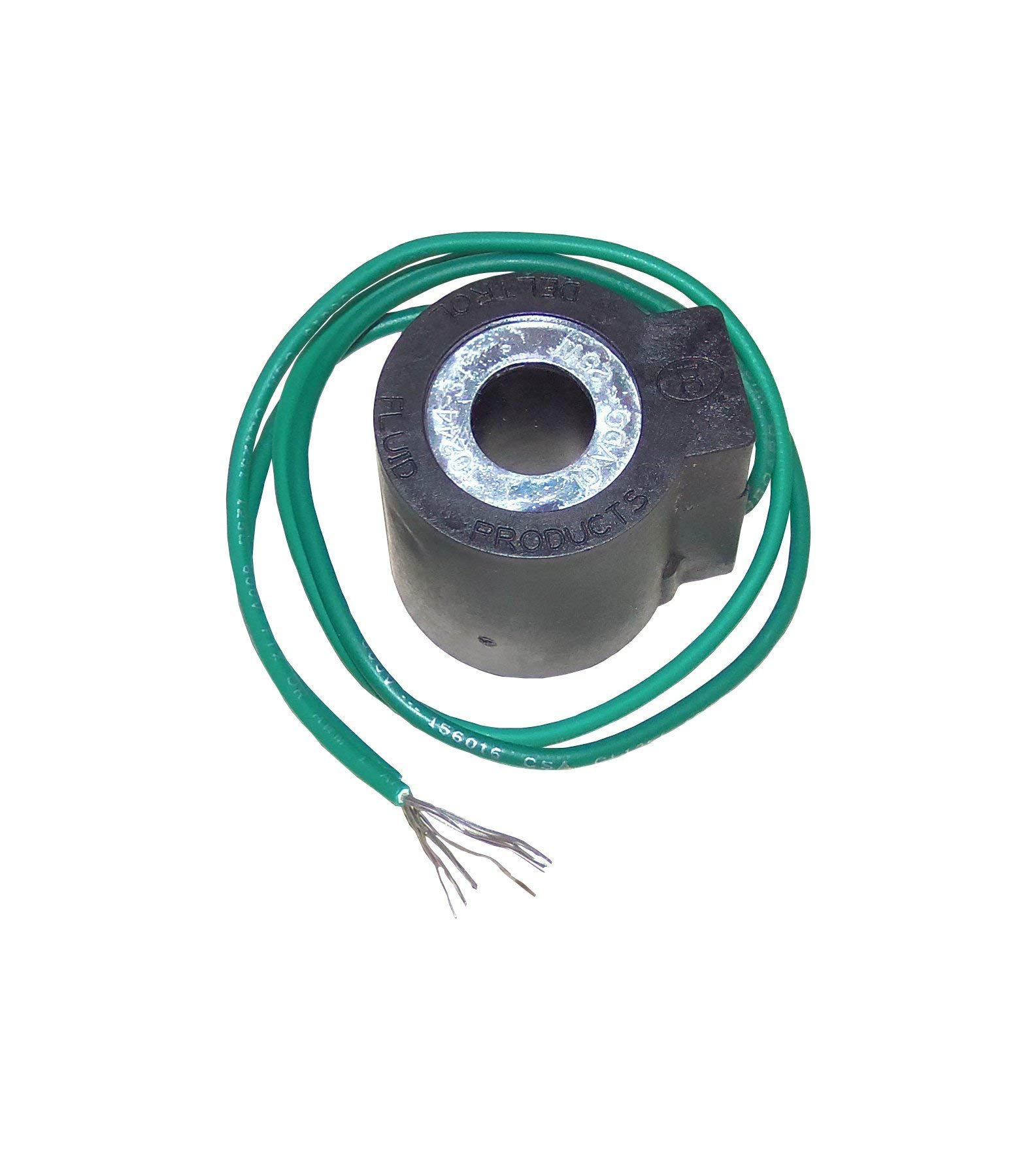 Deltrol 10244-34 10VDC Solenoid Coil 25W with Dual Lead Wires