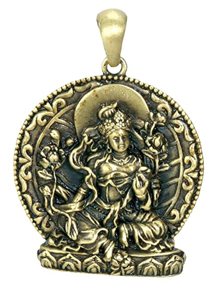 Amazon green tara pendant collectible medallion necklace green tara pendant collectible medallion necklace accessory jewelry mozeypictures Gallery
