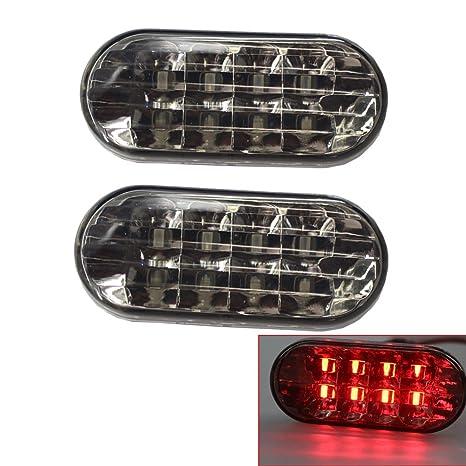 Luces de marcador lateral LED Lámpara de señal de giro compatible con Jetta Golf 4 GOLF4