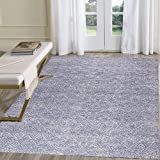 HEBE Large Cotton Area Rug 4' x 6' Machine Washable Printed Hand Woven Cotton Rug for Living Room, Bedroom, Laundry Room, Ent