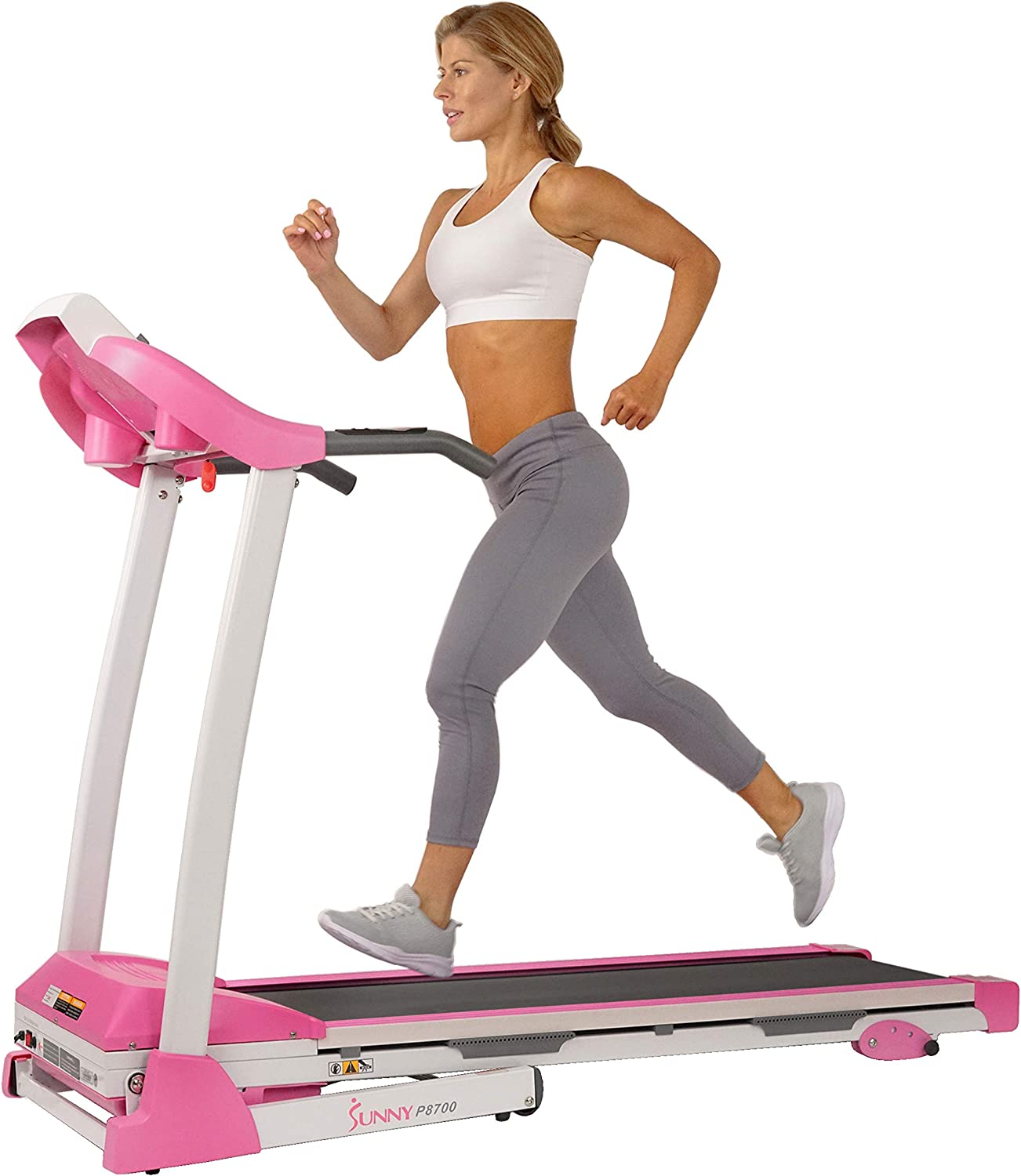 Best incline treadmill: Sunny Health & Fitness Folding Treadmill
