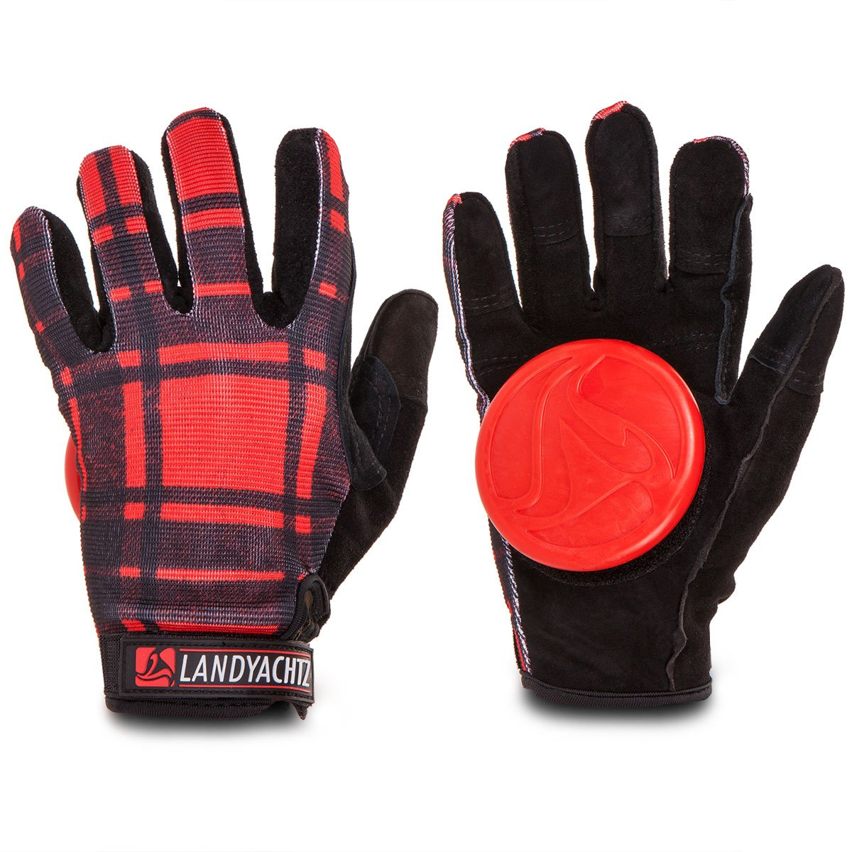Landyachtz Plaid Slide Gloves - SM
