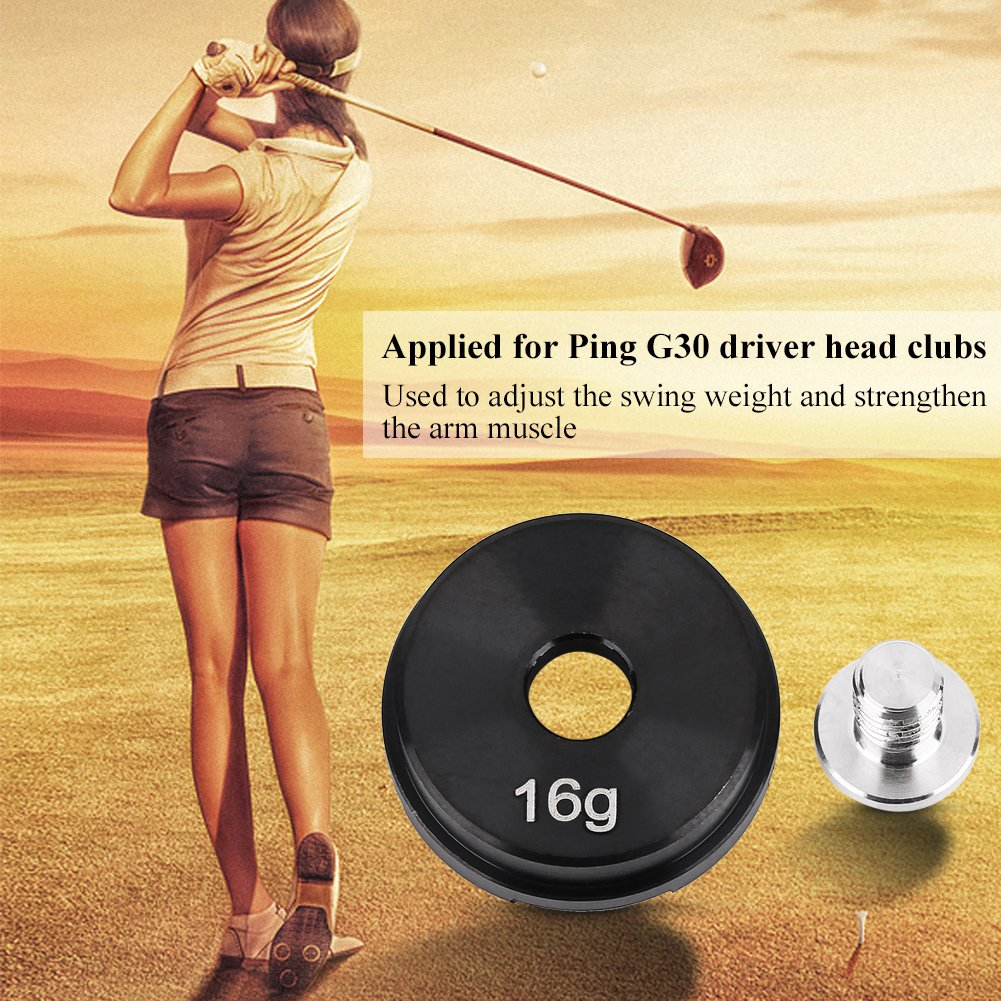 Woyisisi Golfs Weight Screw, Accesorio De Entrenamiento De ...