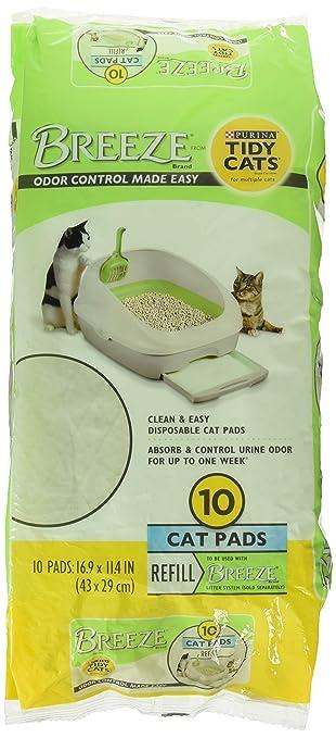 Amazon.com: Tidy Gatos Breeze Refill Cat Pads almohadillas ...