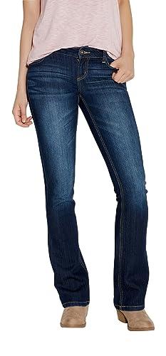 Maurices Women's Ellie Straight Jeans In Dark Wash