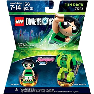 Lego Dimensions Building Toy Pack (Powerpuff Girls Buttercup 71343): Toys & Games [5Bkhe0300252]
