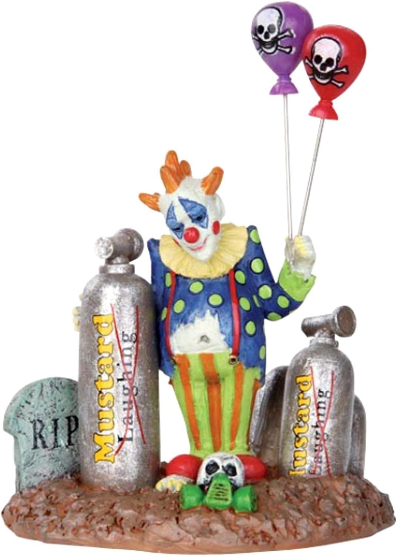 Lemax Spooky Town Balloon Clown Figure Halloween Decor Figurine #32103
