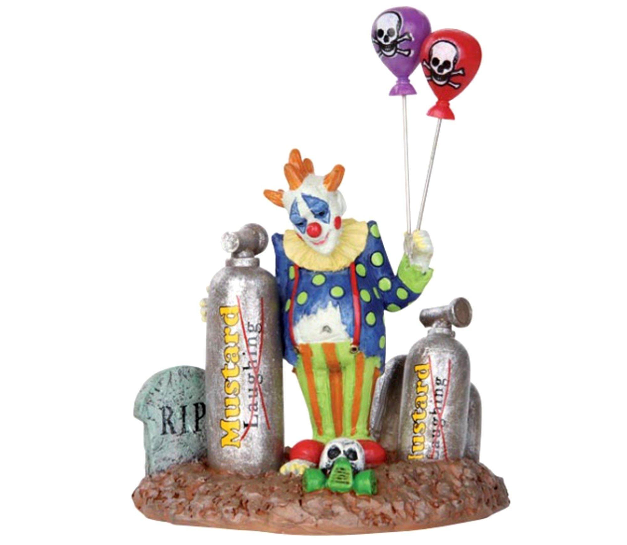 1 X Lemax 32103 Balloon Clown Spooky Town Figure Halloween Decor Figurine