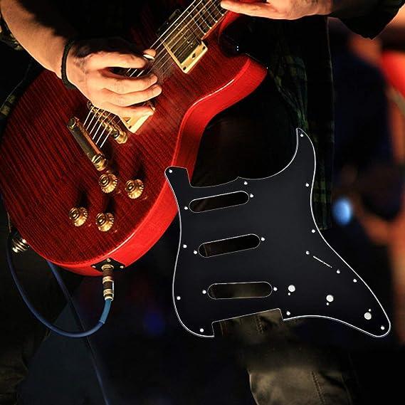 Ballylelly Guitarra eléctrica Pickguard Scratch Plate para ...