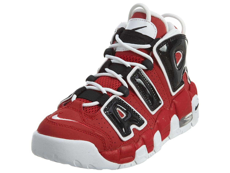 Nike Kids Air More uptempo Shoes B01J0BWFSY 7 M US Big Kid|Varsity Red, White-black