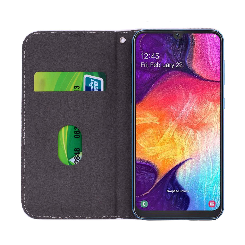 JAWSEU Compatibile con Samsung Galaxy J5 2016 Custodia Portafoglio in Pelle Brillantini Bling Glitter Premium PU Libro Leather Wallet Flip Cover Antiurto Protettiva Case,Arancio