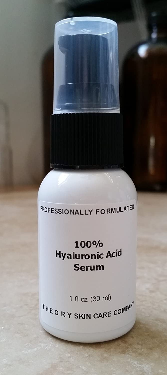 100% Hyaluronic Acid Serum,Purist,Hyaluronic Acid Available. Only 3 Pure Ingredients, May Be Added to Your Current Creams And Lotions