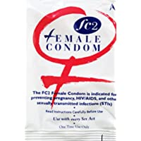 FC2 Female Condom White Packaging ~One Single Condom