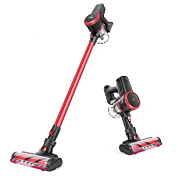 MOOSOO 23Kpa Ultra-Quiet Cordless Vacuum For Tile Floors