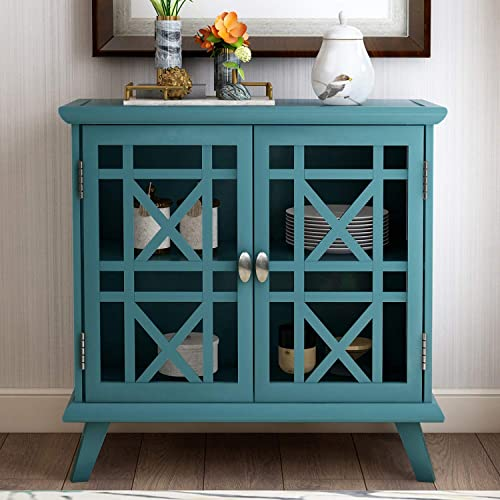 Storage Cabinet Floor Storage Cabinet with Doors and Adjustable Shelf Bathroom Storage Cabinet with Doors for Entryway Kitchen Dining Room Living Room