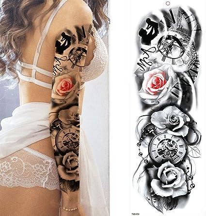 7pcs Tatuaje Tatuaje metálico de láminas de impermeabilización ...