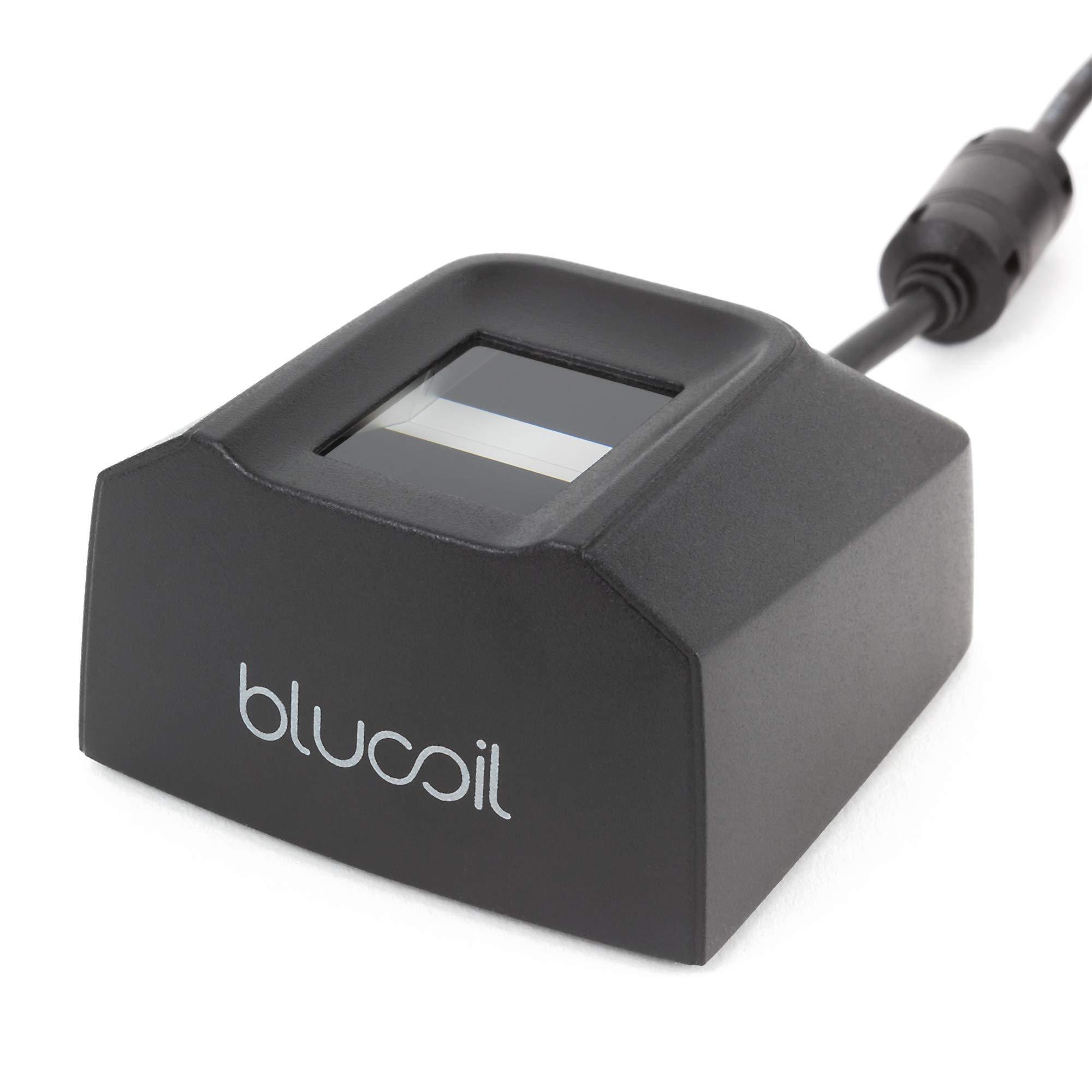 Blucoil Secugen Hamster Pro 20 Optical USB Fingerprint Scanner (Renewed)