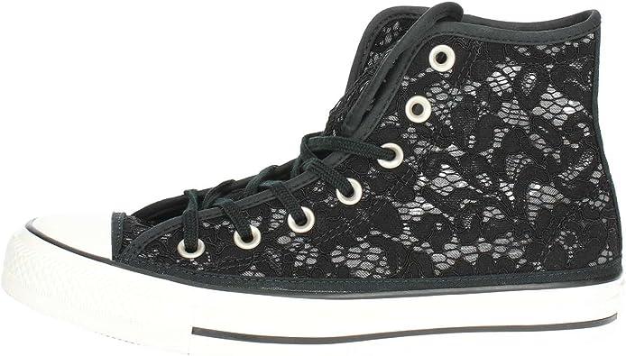 Converse 561283C Haute Sneakers Femme Noir 39œ: Amazon.fr ...