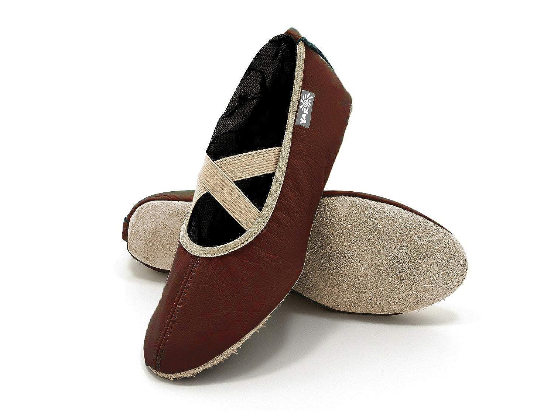 balett Chaussures yaro, Chaussures de gymnastique, Chaussures de sport, en cuir, coloris assortis, Taille 23jusqu'à 40 Taille 23jusqu'à 40