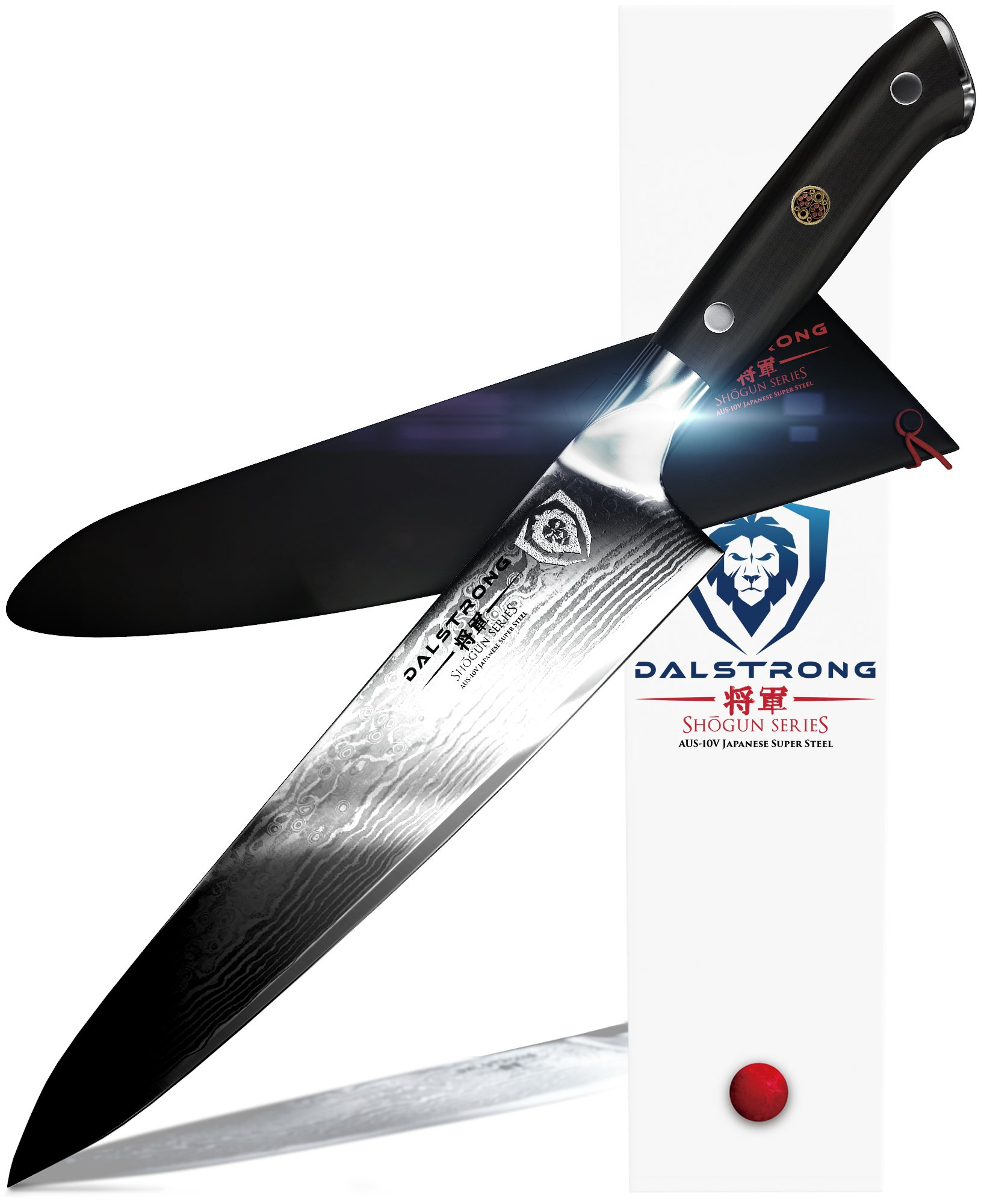 DALSTRONG Chef Knife - Shogun Series Gyuto - AUS-10V- Vacuum Heat Treated -