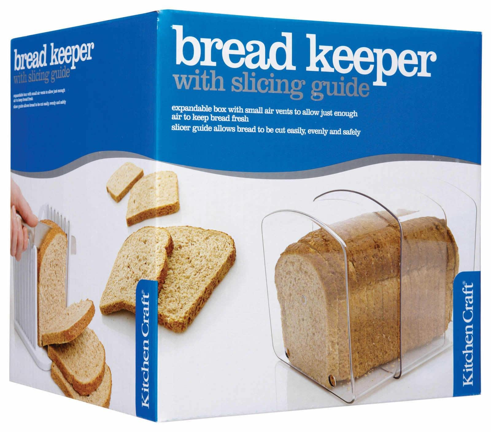 Kitchencraft Bread Keeper, Expanding by Kitchen Craft