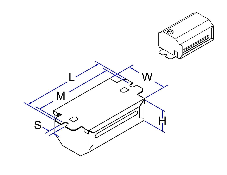 ROBERTSON 3M10598 S1PLA /E mBALLAST, NPF, 120Vac., 60Hz, (1)13TT-2 V1 Robertson Worldwide