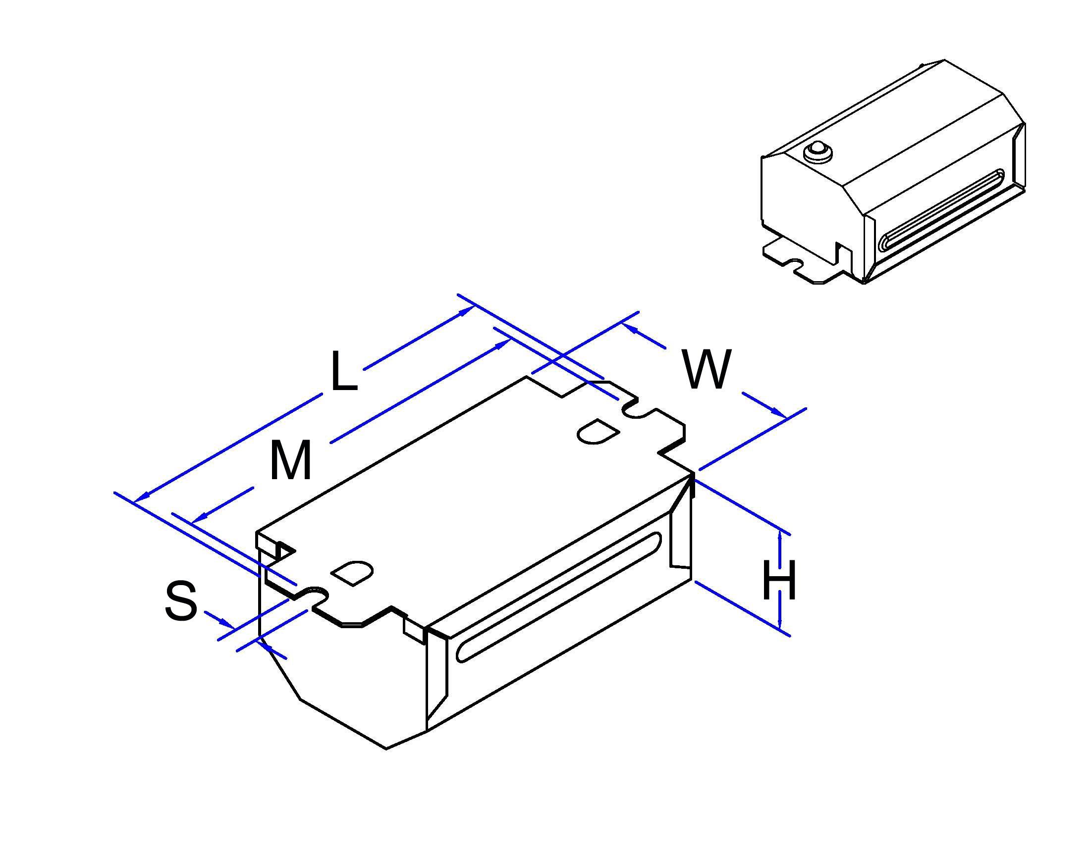 ROBERTSON 3M10605 S68PLA /C mBALLAST, NPF, 120Vac., 60Hz, (1)7/9TT V1