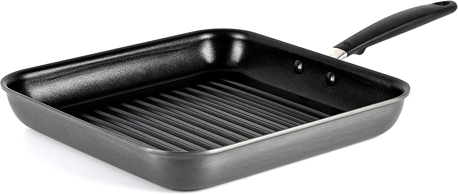 OXO Good Grips Non-Stick Square Grill PAN, 11