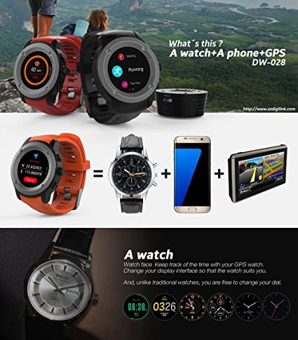 NUOII Bluetooth Smart Watch For Android Samsung iOS Apple ...