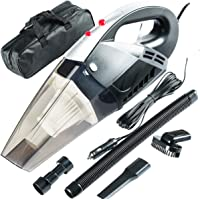 EPRO Portable Light Weight Car Vacuum Cleaner: High Power 120W/6000Pa | Corded Handheld Vacuum w/4.5m Cable and LED…